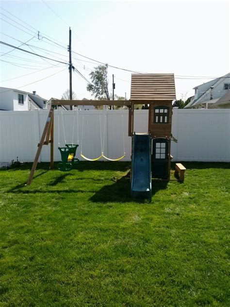 big backyard replacement parts big backyard windale playset from toys r us installed in