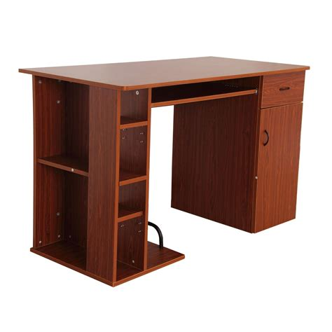 homcom small home office computer desk