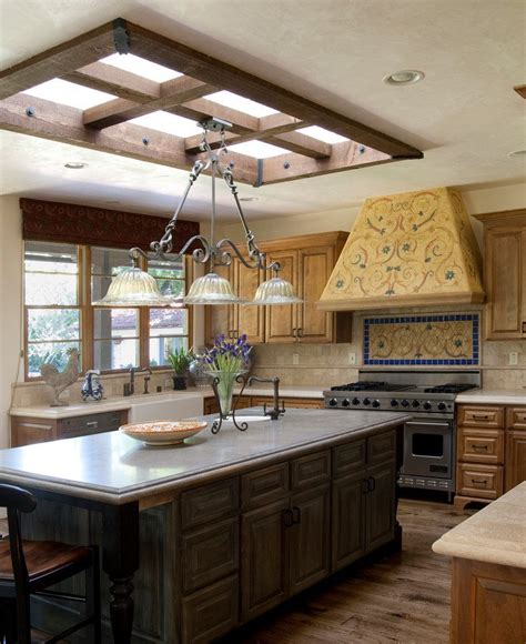 replace fluorescent light box kitchen traditional with