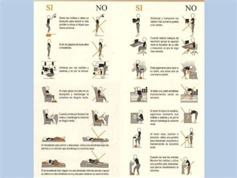 las posturas clave en malas posturas y dolor de espalda