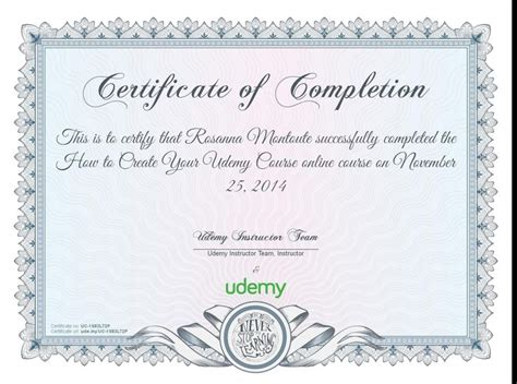 design certificate stanford completion certificate for how to create your udemy course