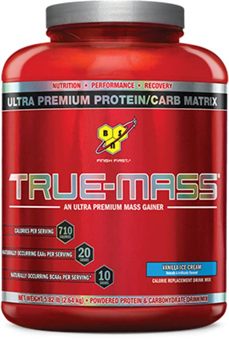 best protein mass gainer true mass protein powder by bsn bodybuilding best