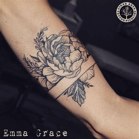 tattoo flower band arm band tattoos the world s best arm band tattoo