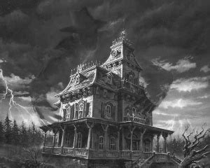 Victorian House Blueprints by Haunted House Tv Tropes
