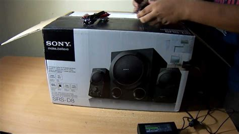 Speaker Aktif Sony sony srs d8 2 1 channel 60 watts active speaker system unboxing and sound test