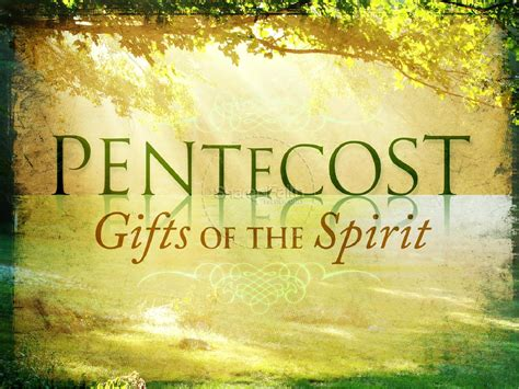 gifts   holy spirit powerpoint template pentecost powerpoints
