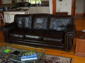 Richard S Santa Fe Leather Sofa By Leather Trend P534