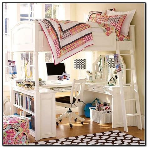 girls bunk bed with desk bunk bed desk for girls beds home furniture design maddy s room pinterest