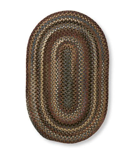 llbean braided rugs bean s braided wool rug oval