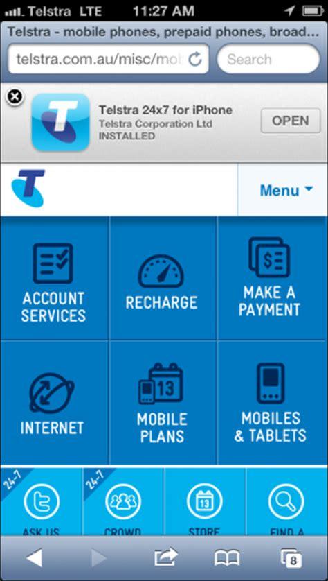 telstra help mobile telstra 24x7 app winner 2013 mobile awards