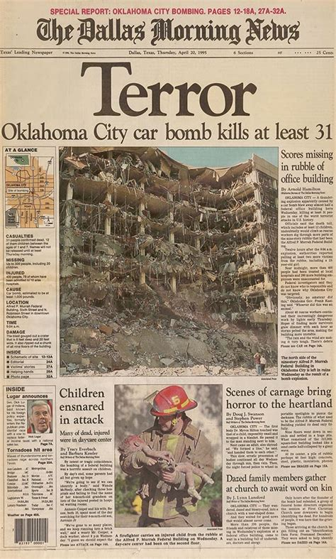 daycare okc oklahoma city bombing 20 years later a boy s loss a s return