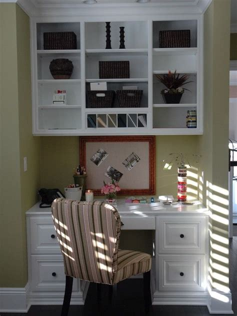 Built In Desk Ideas For Small Spaces Built In Desk Home Pinterest