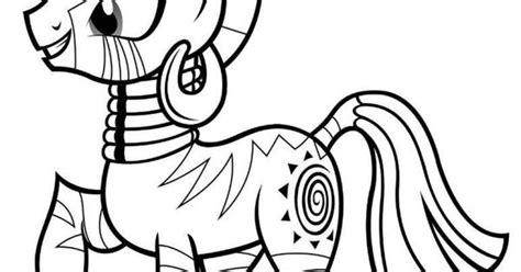 my little pony zecora coloring pages my little pony coloring pages zecora printables and such