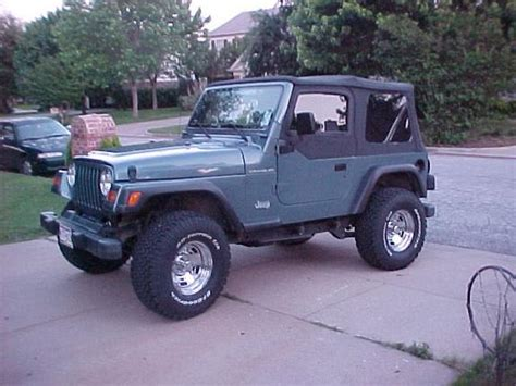 does jeep wrangler ride smoothly jeepthing99 1999 jeep wrangler specs photos modification