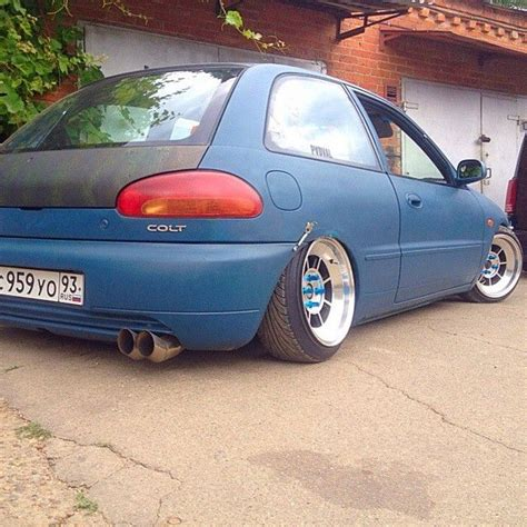 mitsubishi colt ralliart jdm 23 best images about mitsubishi on slammed