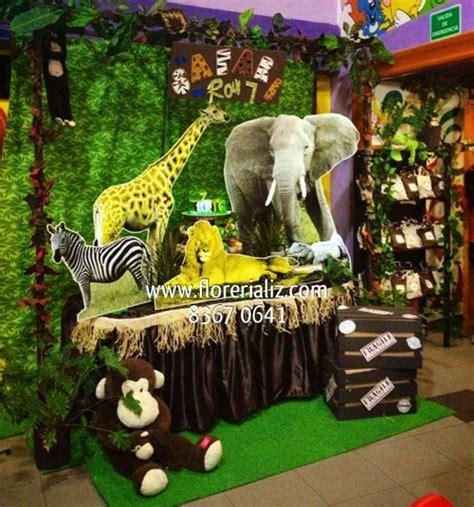Como Adornar Para Un Baby Shower by Decoraci 243 N De Fiesta De Safari Imagui