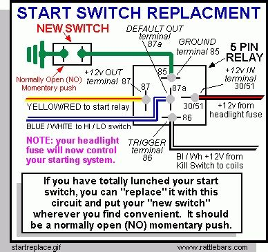 switch 5 prong relay wiring diagram 5 prong trailer