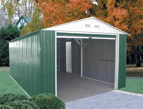 Heavy Metal Garage by Duramax Metal Sheds Free Shipping And Guaranteed Low