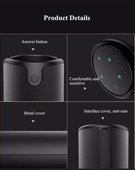 Zealot S8 Bluetooth Speaker Dengan Powerbank 4000mah zealot s8 4000mah touch bass 3d tf card free aux wireless bluetooth speaker power