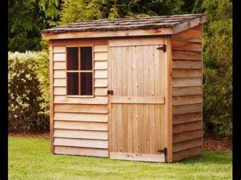 8×10 Gable Shed Plans