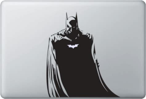 Kaos Batman Nama Glow In The Ar batman macbook skin sticker