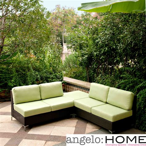 wicker patio furniture set patio design ideas