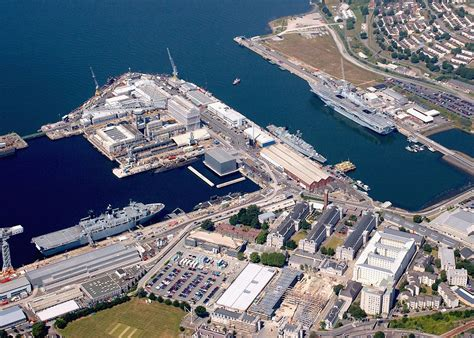 map of plymouth and surrounding areas file plymouth naval base and surrounding area mod