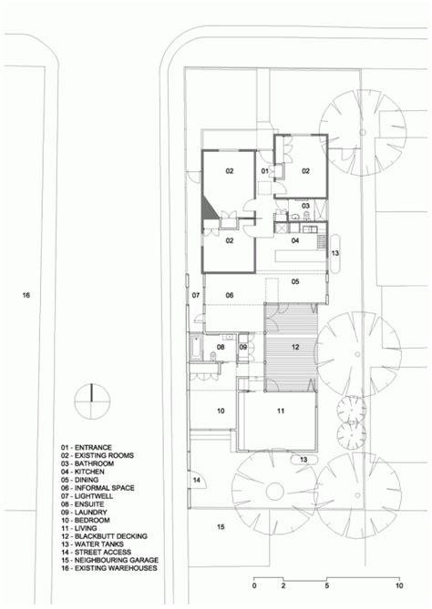 single line floor plan profile house black line one x architecture studio
