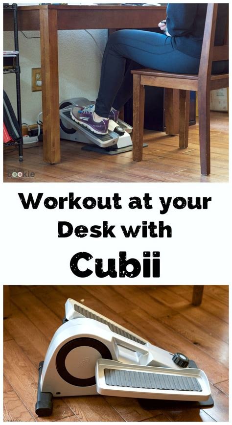 workout at your desk workout at your desk with cubii the fit cookie