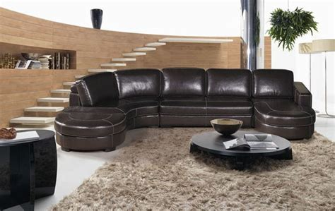 contemporary sectional leather sofas contemporary style designer all leather sectional