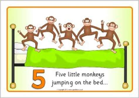 no more monkeys jumping on the bed lyrics 17 best images about five little monkeys on pinterest