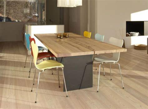 mesas de comedor de madera modernas mesas comedor modernas madera maciza tix mobimex archiexpo