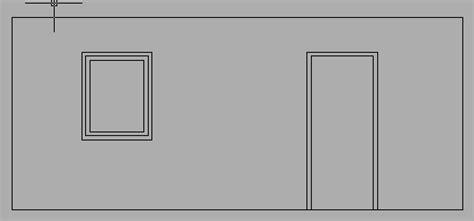 Darstellung Fenster Ansicht by Darstellung Fenster Und T 252 Ren Aca 2009 Autodesk