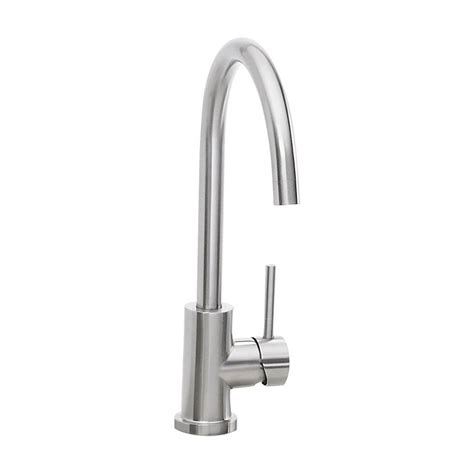 pacific sales kitchen faucets sedona by lynx outdoor gooseneck faucet stainless