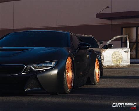 bmw i8 stanced stanced bmw i8 187 cartuning best car tuning photos from
