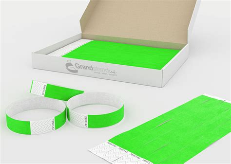 Grandstand Ink Event Printing Event Wristband Template