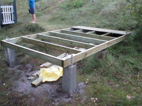 Types Of House Foundations shed pier foundation the advantages