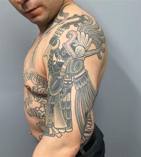 100 Best Aztec Tattoo Designs Ideas Meanings In 2018 Unique Aztec Designs