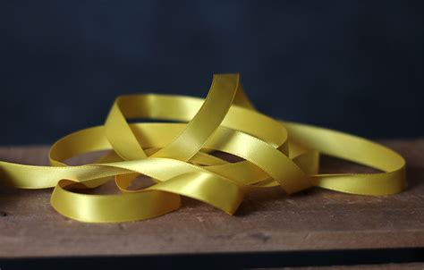 Subaru 12mm 1 2 Inchi Dabel Doubel faced poly satin ribbon 1 2 inch golden yellow the patch