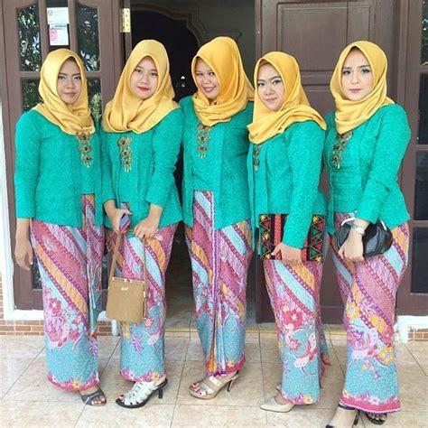 Batik Jumputan Warna Kuning Kunyit 11 ide kebaya kutu baru yang bisa buatmu til