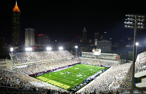 bobby dodd stadium  historic grant field georgia tech