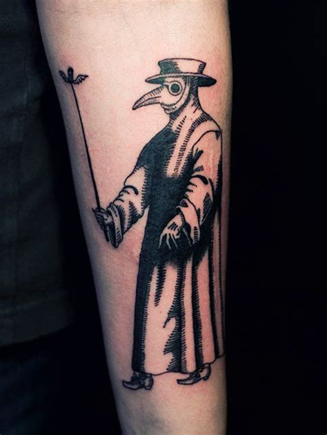 plague doctor tattoo plague doctor search tattoos