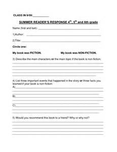 4th Grade Book Report Templates 16 Best Images Of 3rd Grade Book Report Worksheet 3rd