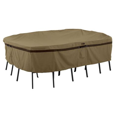 Classic Accessories Veranda Large Rectangular Patio Table
