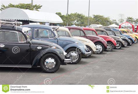 volkswagen thailand volkswagen beetle retro vintage car editorial stock image