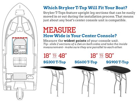 powder coated boat t top powder coated black t top for boats by stryker