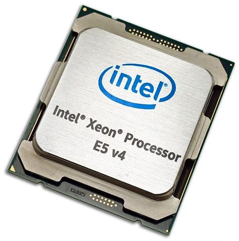 Processor Xeon on with the new intel xeon e5 v4 family of processors for the enterprise