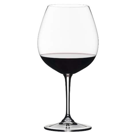 riedel barware riedel vivant pinot noir glasses set of 4 target