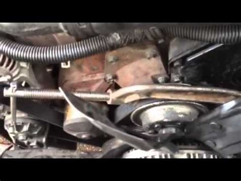 dodge ram 1500 fan clutch removal dodge cummins fan clutch removal youtube