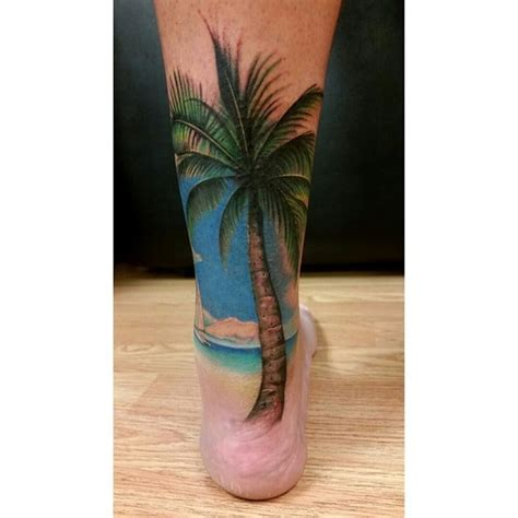 mid pacific tattoo free palm tree cover up a torn achilles